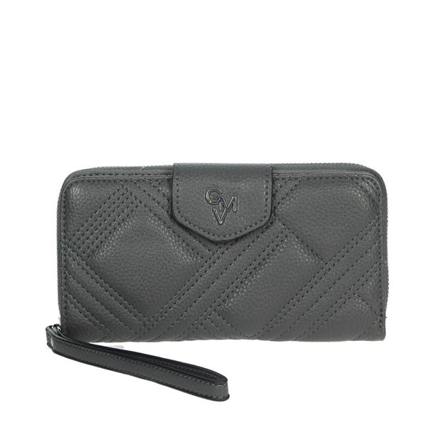 Gianmarco Venturi Accessories Wallets Grey GWPD0002L17