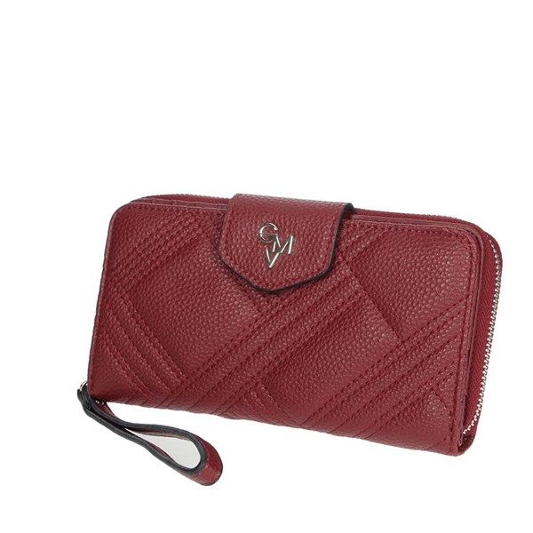 Gianmarco Venturi Accessories Wallets Burgundy GWPD0002L17
