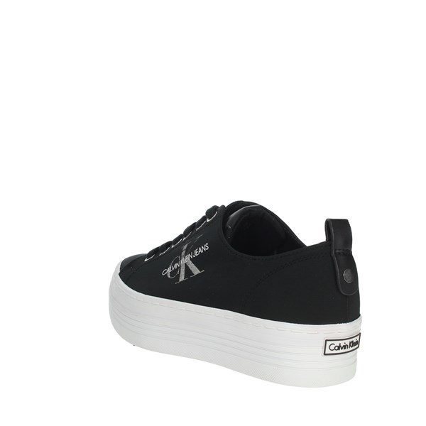 Calvin Klein Jeans Shoes Sneakers Black RE9797