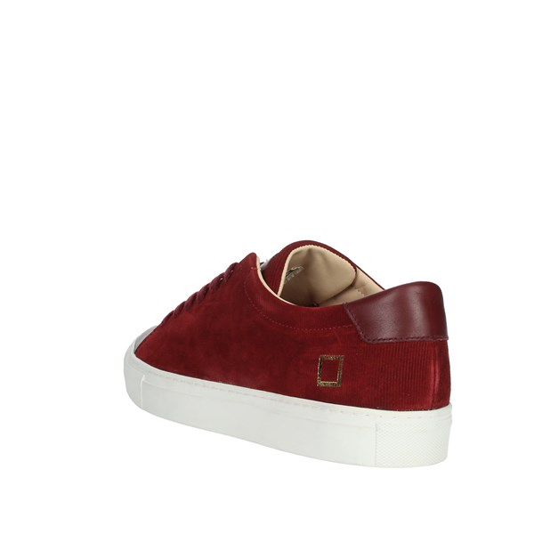 D.a.t.e. Shoes Sneakers Burgundy I19-108