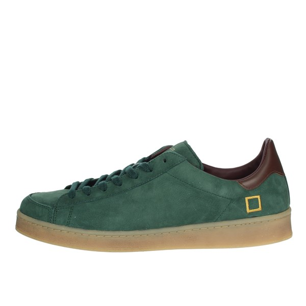 D.a.t.e. Shoes Sneakers Dark Green I19-104