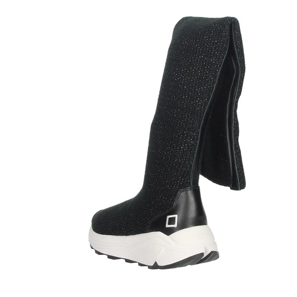 D.a.t.e. Shoes Boots Black I19-136