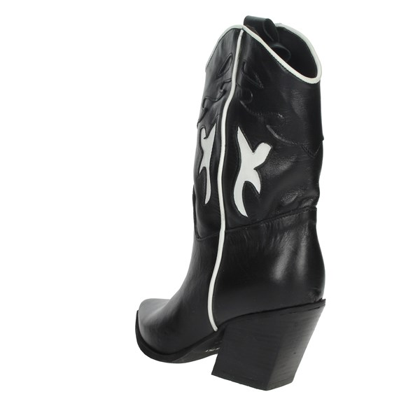 Marlena Shoes Boots Black/White 704