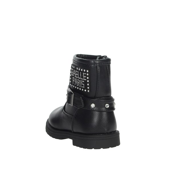 Gaelle Paris Shoes Ankle Boots Black G-080