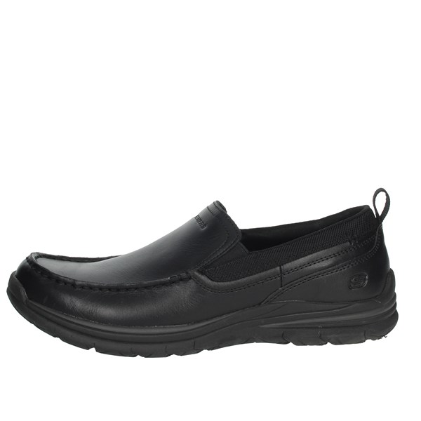 Skechers Shoes Loafers Black 65197