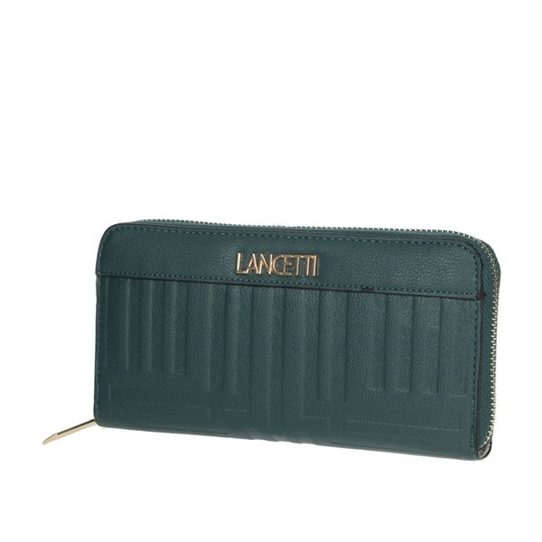 Lancetti Accessories Wallets Dark Green LWPD0009L01