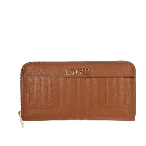 Lancetti Accessories Wallets Brown leather LWPD0009L01