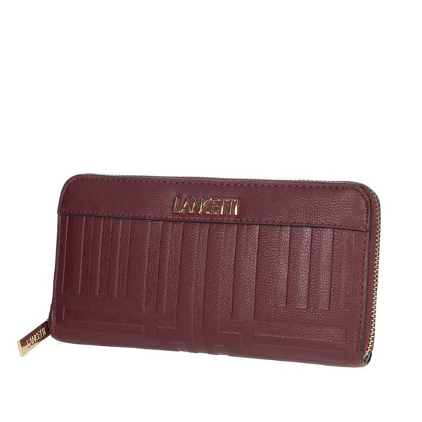 Lancetti Accessories Wallets Burgundy LWPD0009L01