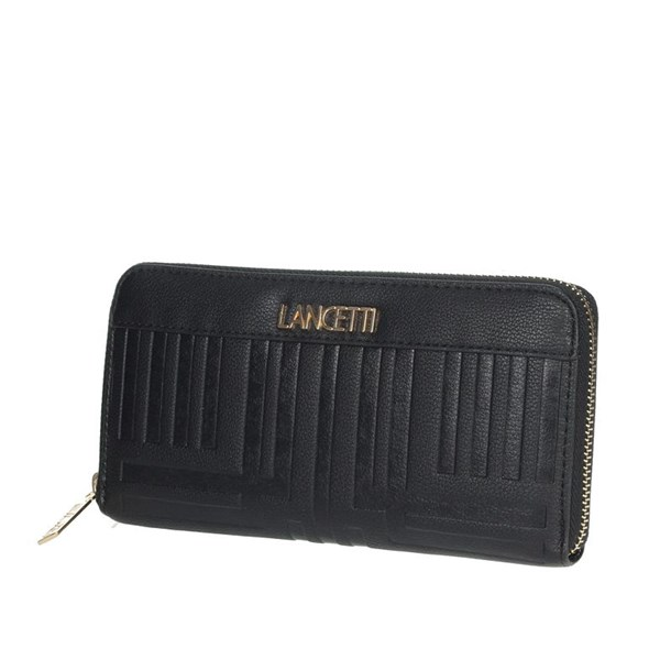 Lancetti Accessories Wallets Black LWPD0009L01