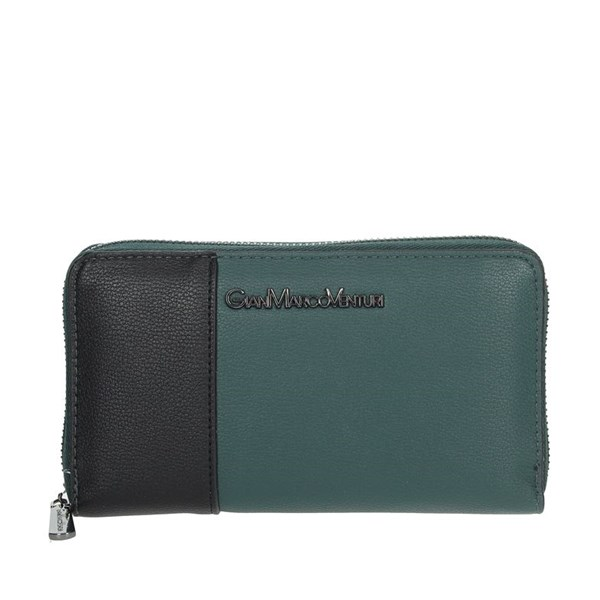 Gianmarco Venturi Accessories Wallets Dark Green GWPD0006L32