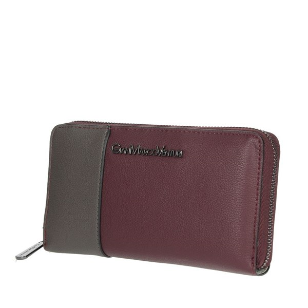 Gianmarco Venturi Accessories Wallets Burgundy GWPD0006L32