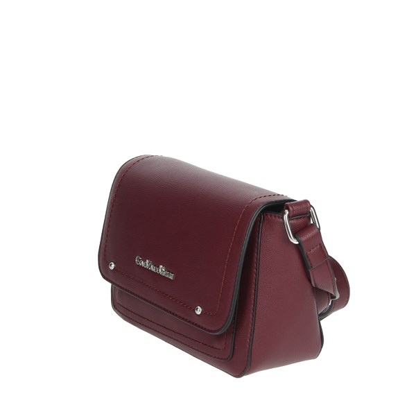 Gianmarco Venturi Accessories Bags Burgundy GBPD0005SR1