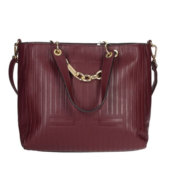 Lancetti Accessories Bags Burgundy LBPD0021HG2