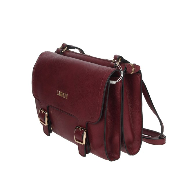 Lancetti Accessories Bags Burgundy LBPD0019SR2