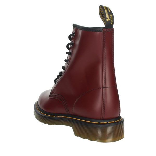 Dr Marten's Shoes Boots Burgundy 1460