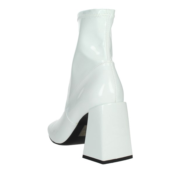 Steve Madden Shoes Ankle Boots White ROW