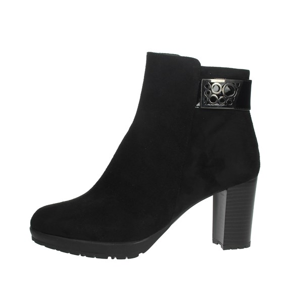 Comart Shoes Ankle Boots Black 363177