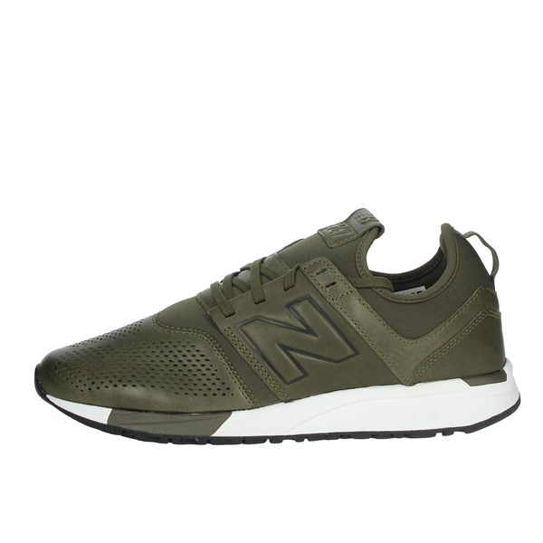 New Balance Shoes Sneakers Dark Green MRL247NO