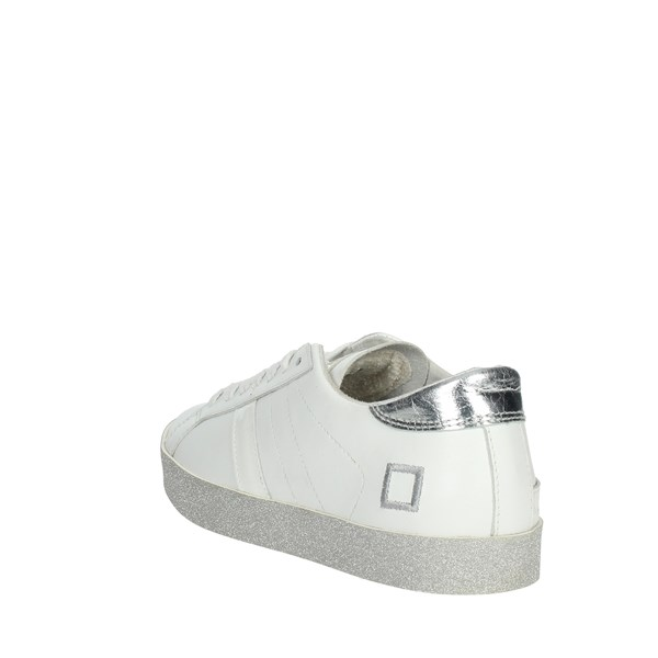 D.a.t.e. Shoes Sneakers White/Silver E20-95