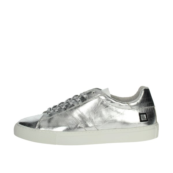 D.a.t.e. Shoes Sneakers Silver E20-59