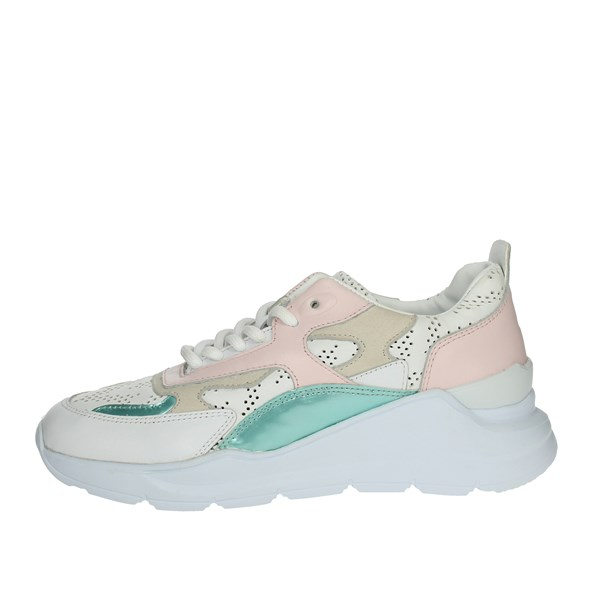 D.a.t.e. Shoes Sneakers White/Pink E20-74