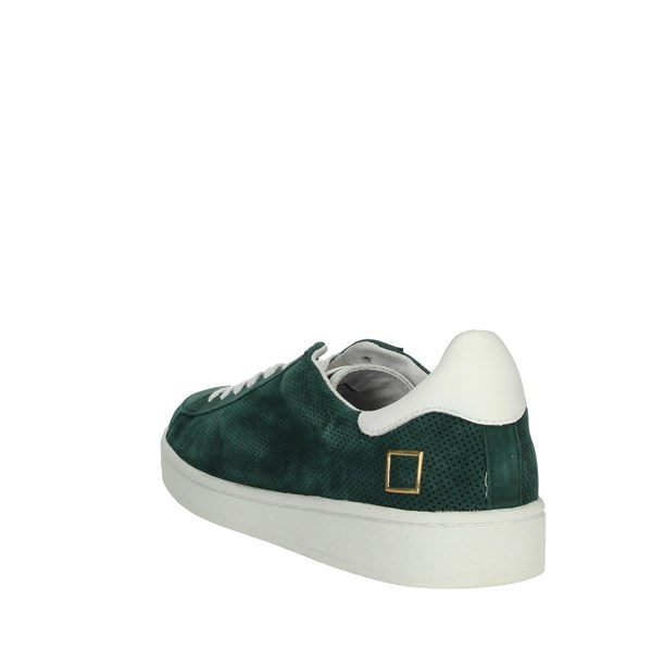 D.a.t.e. Shoes Sneakers Dark Green E20-154