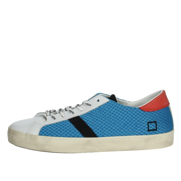 D.a.t.e. Shoes Sneakers White/Light Blue E20-173