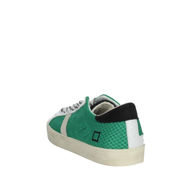 D.a.t.e. Shoes Sneakers White/Green E20-174