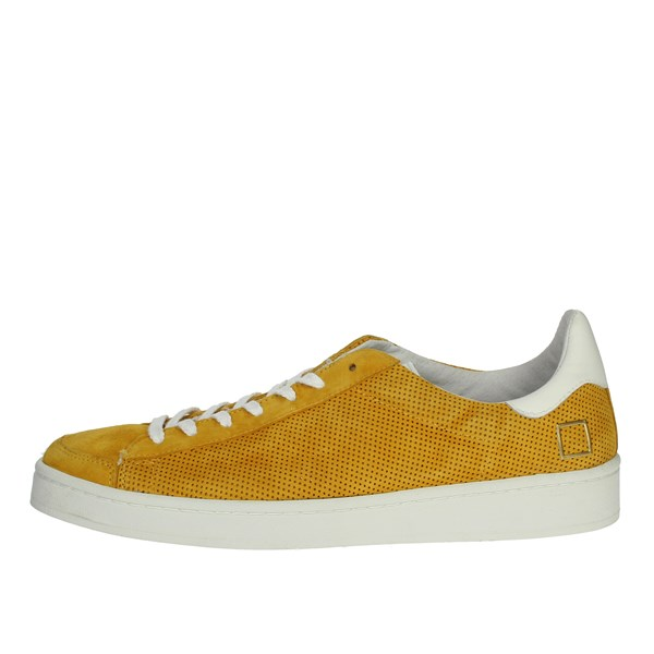 D.a.t.e. Shoes Sneakers Yellow E20-151