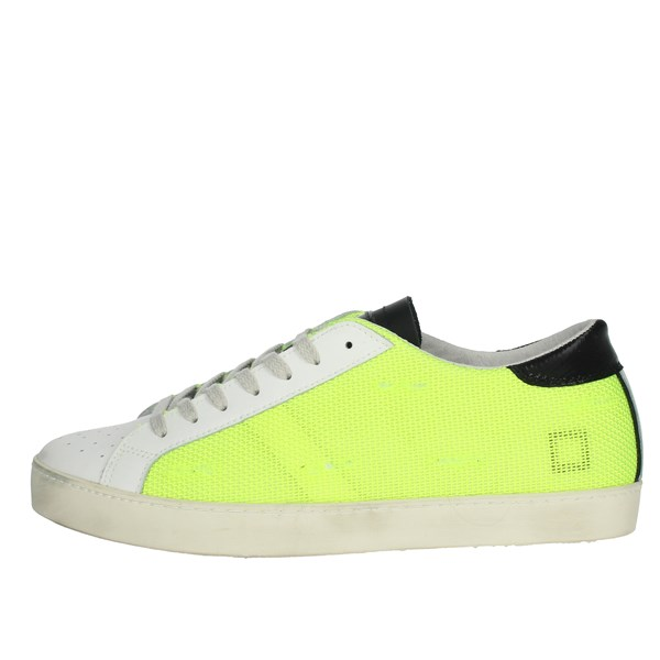 D.a.t.e. Shoes Sneakers Yellow-Fluo E20-111