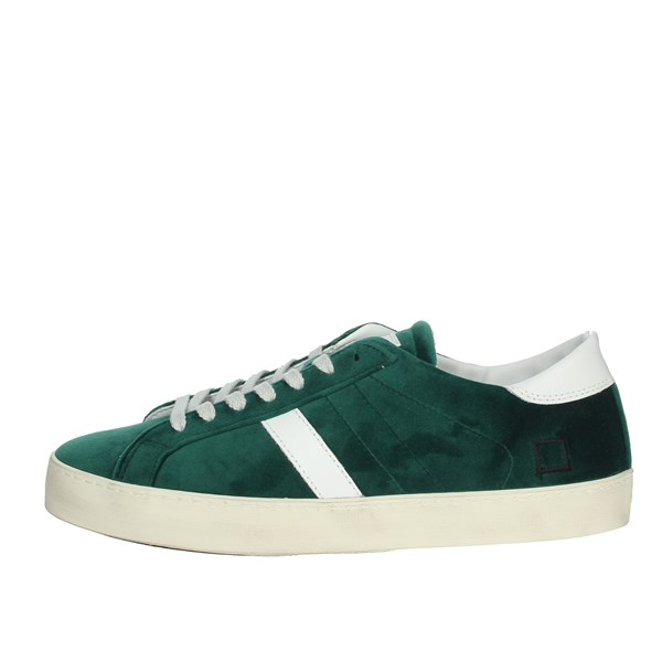 D.a.t.e. Shoes Sneakers Dark Green I19-139