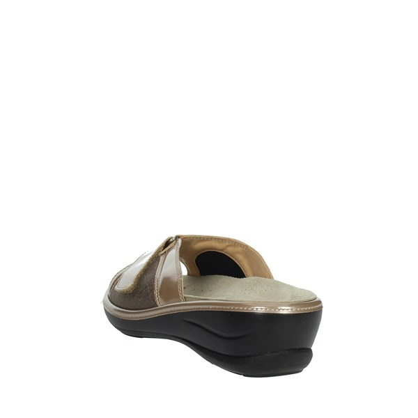 Novaflex Shoes Clogs Beige CRISTIANA