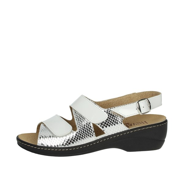Novaflex Shoes Sandal White/Silver FIONA