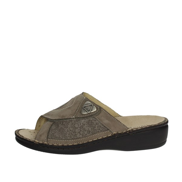 Novaflex Shoes slippers Brown Taupe ELEONORA