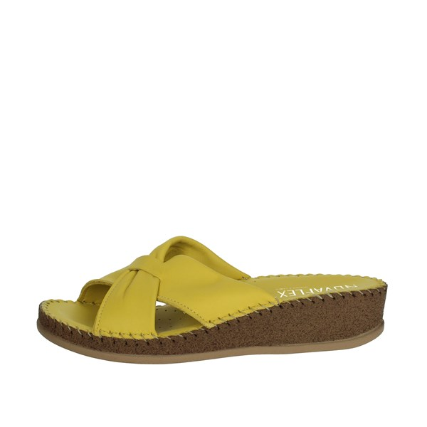 Novaflex Shoes slippers Yellow PESCO