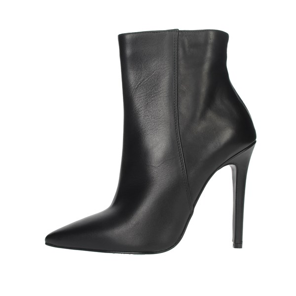 Elena Del Chio Shoes Ankle Boots Black 6193