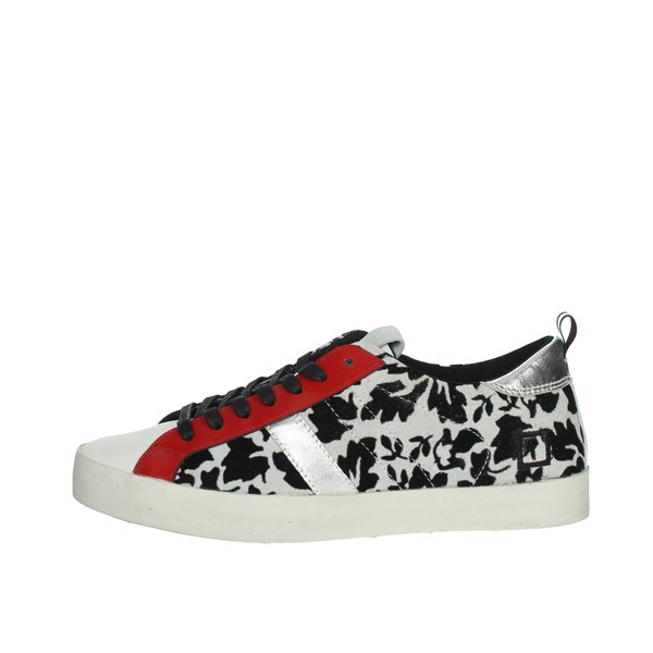 D.a.t.e. Shoes Sneakers Black/Red HILL LOW-24I
