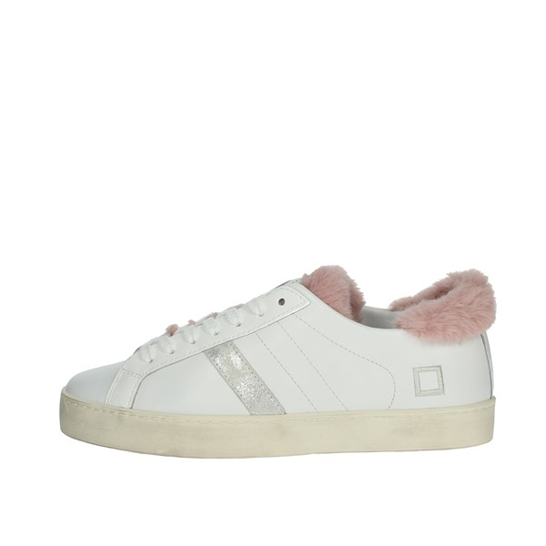D.a.t.e. Shoes Sneakers White HILL LOW-23I