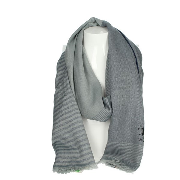 La Martina Accessories Scarves Grey SCR 12273