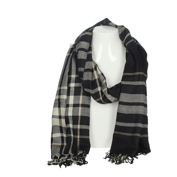 La Martina Accessories Scarves Black/Grey SCR 12280