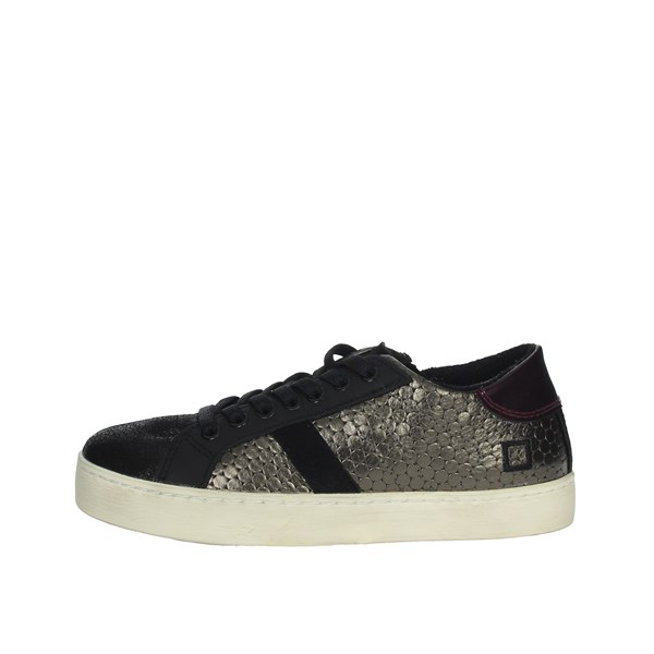 D.a.t.e. Shoes Sneakers Charcoal grey HILL LOW-14I
