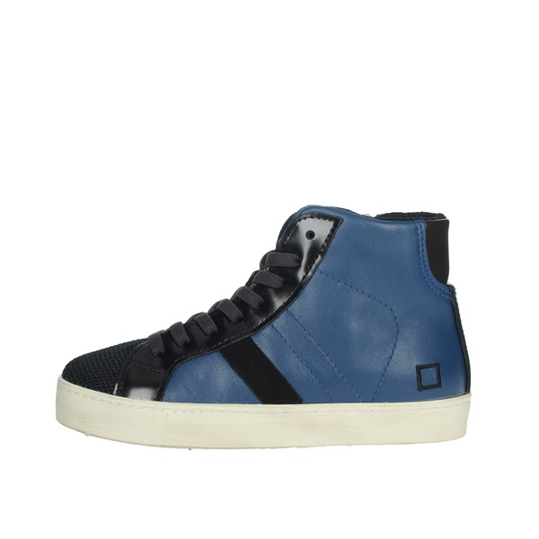 D.a.t.e. Shoes Sneakers Blue/Black HILL HIGH-1I