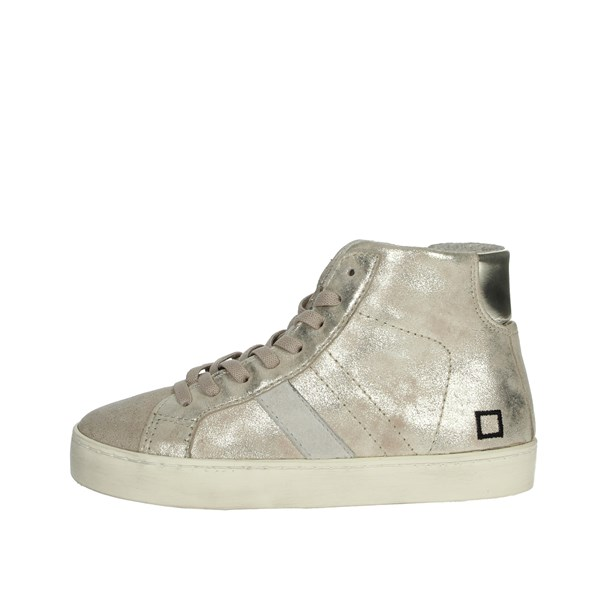 D.a.t.e. Shoes Sneakers Platinum  HILL HIGH-4I
