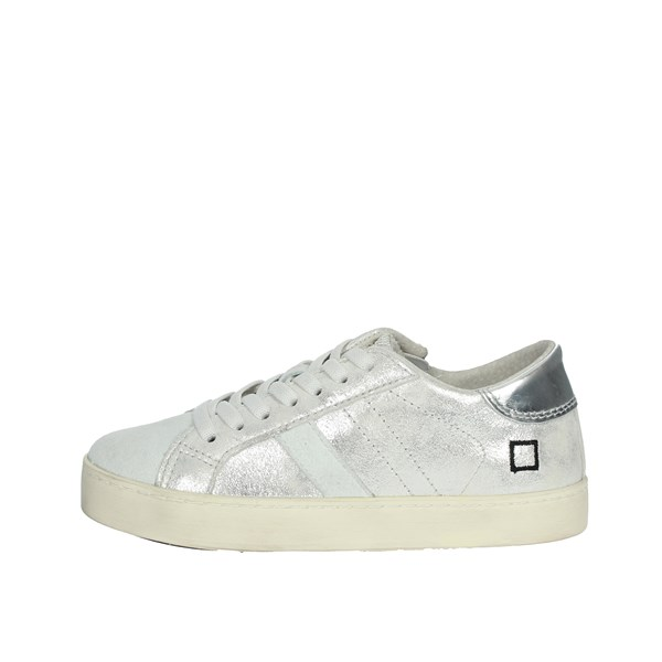 D.a.t.e. Shoes Sneakers Silver HILL LOW-11I