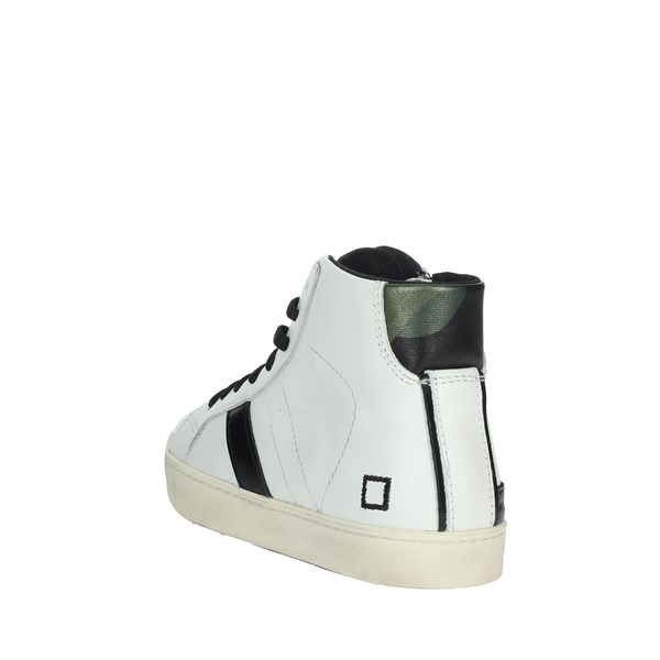 D.a.t.e. Shoes Sneakers White HILL HIGH-8I