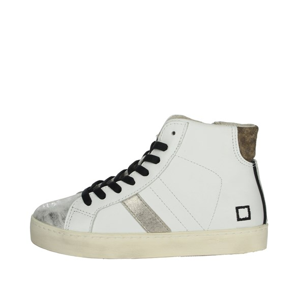 D.a.t.e. Shoes Sneakers White HILL LOW-10I