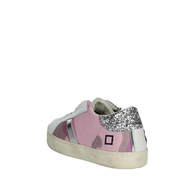 D.a.t.e. Shoes Sneakers Rose HILL LOW-19E