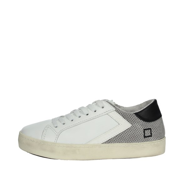 D.a.t.e. Shoes Sneakers White/Grey HILL LOW-15E