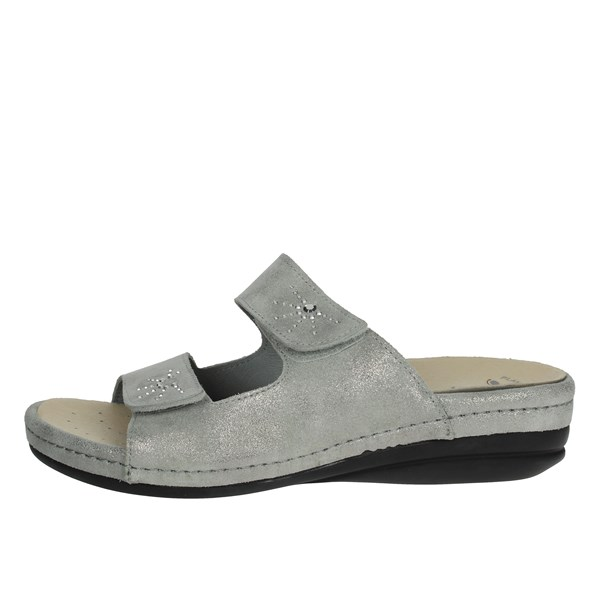 Riposella Shoes slippers Silver 9511