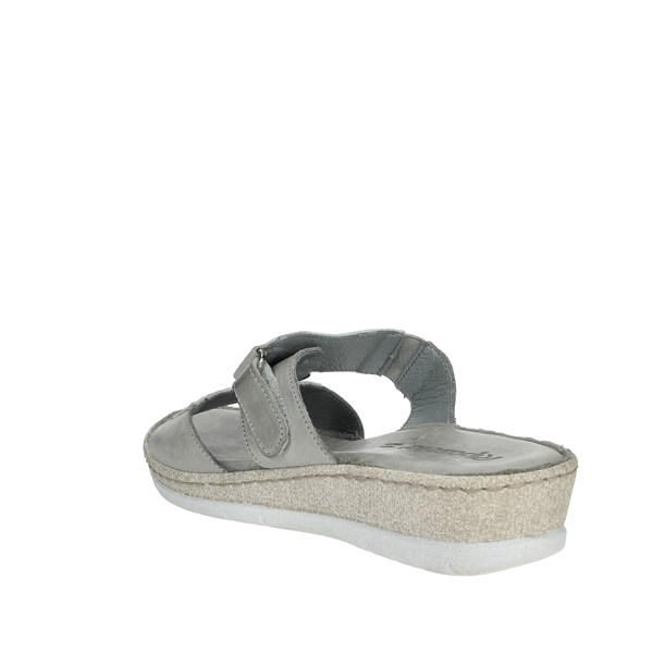 Riposella Shoes slippers Ice grey 6277